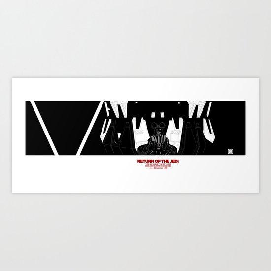 Episode V — Vador Mouse Chambers Art Print