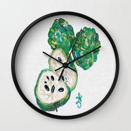 Sweet Sop Sugar Spring Wall Clock