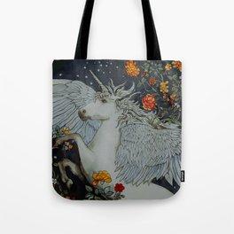 te second last unicorn Tote Bag