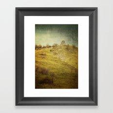 Salt Meadow Mounds Framed Art Print