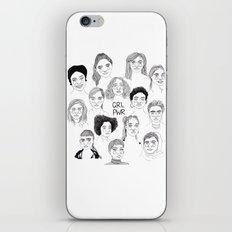 GRL PWR 2 iPhone & iPod Skin