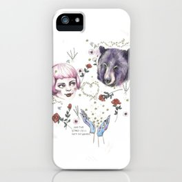 The Stars Fell Into My Hands iPhone Case