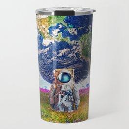 The World Behind Travel Mug