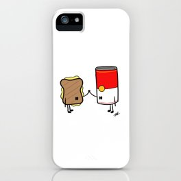 Grilled Cheese + Tomato Soup iPhone Case