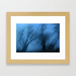 Visions in the twilight Framed Art Print