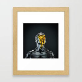 Love is the Only Gold Framed Art Print