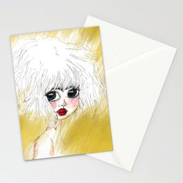 Doll Girl  Stationery Cards