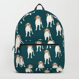 All about Gracie the Tree walker coonhound Backpack