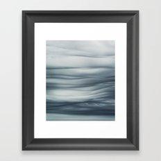 Undulatus Asperatus Clouds Framed Art Print