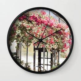 Bougainvillea in Bloom Wall Clock
