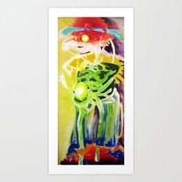 Internal Contours Art Print
