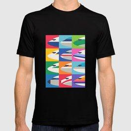 Retro Airline Nose Livery - International T-shirt