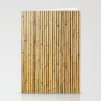 bamboo Stationery Cards featuring Bamboo by Patterns and Textures