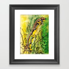 The leap Framed Art Print