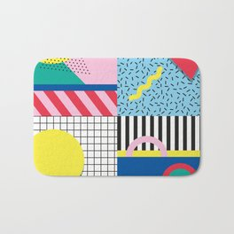 Memphis Party Bath Mat