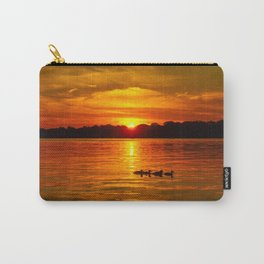 Ducks in a Row Carry-All Pouch
