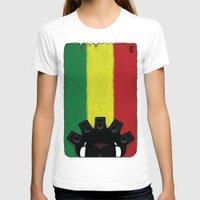 reggae T-shirts featuring Reggae King by JRV Distorted Works