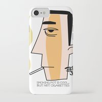cigarettes iPhone & iPod Cases featuring Cigarettes by Brian Sisson