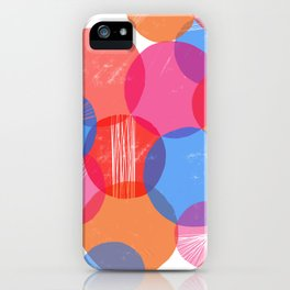 Bauhaus Bubbles iPhone Case