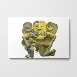 Ancient Greek sculpture of Gorgon Metal Print