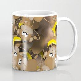 Monkeys And Bananas Coffee Mug