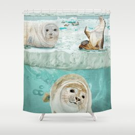 Arctic Expedition Shower Curtain
