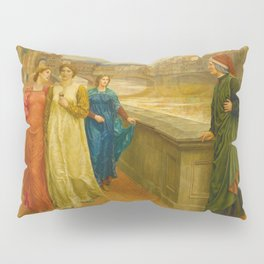 Henry Holiday - Dante And Beatrice Pillow Sham