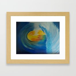 Rip Curl Framed Art Print