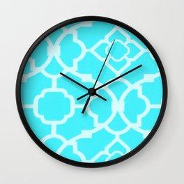 Bright Fabric Wall Clock