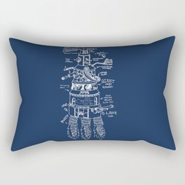 U.S.S. Awesome Rectangular Pillow
