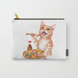 Sushi Cat Carry-All Pouch