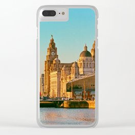 Pier Head and the Albert Dock Clear iPhone Case
