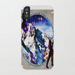 Nina and Matthias - Overwhelm Me iPhone Case