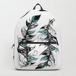 Poetic Feather Backpack