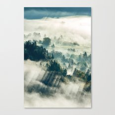 Return to the Mist Canvas Print