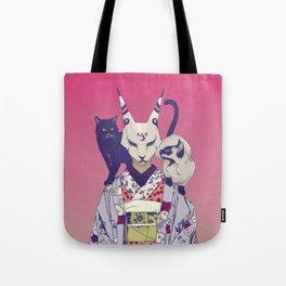 Neko Lady Tote Bag