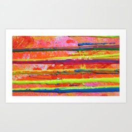The Manipulation Of Paint #10 Art Print