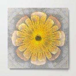 Morenosite Makeup Flowers  ID:16165-102401-08620 Metal Print