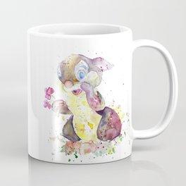 Thumper With Flowers Coffee Mug