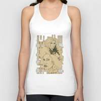 wild things Tank Tops featuring Wild Things by SuburbanSavage