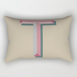 T Rectangular Pillow