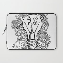 Be the Light Laptop Sleeve