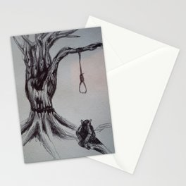 Hangman's Reality Stationery Cards