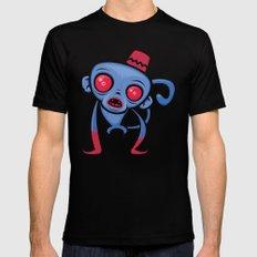 Zombie Monkey Mens Fitted Tee MEDIUM Black