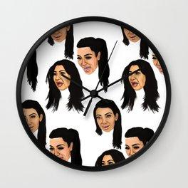 Krying Kim Kardashian  Wall Clock