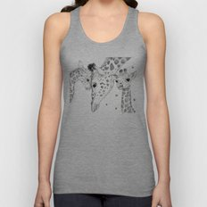 Tastes Like Chicken / Bumble Bees Unisex Tank Top