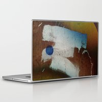 butt Laptop & iPad Skins featuring a butt by ONEDAY+GRAPHIC
