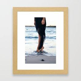 Toes 2 Framed Art Print