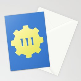 Vault 111 Stationery Cards