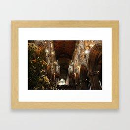 Glasgow Cathedral IV Framed Art Print